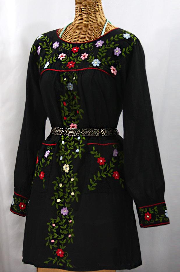 Long Mexican Dress