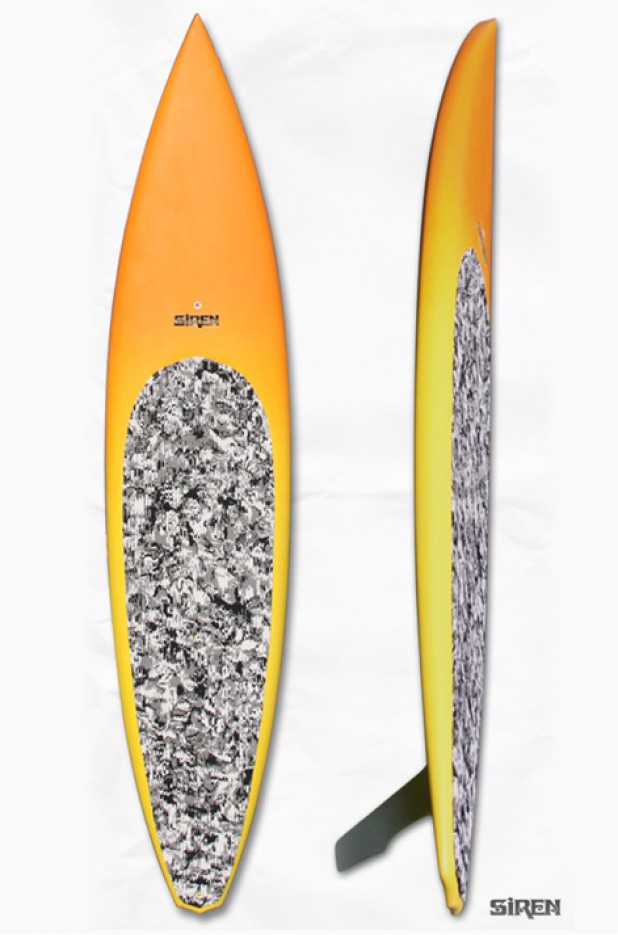 Siren Hot Pursuit Down-Wind Racing SUP: 12'6""