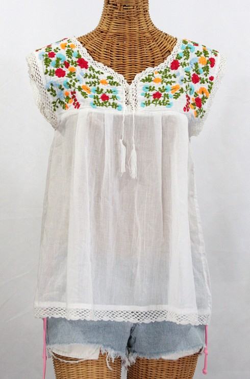 Peasant Blouse Embroidery Pattern 119