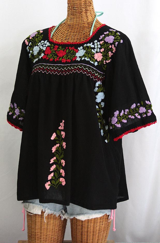Mexican Peasant Blouse Plus Size