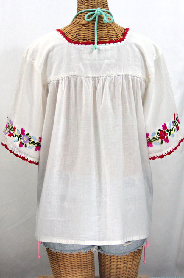White Mexican Peasant Blouses 49