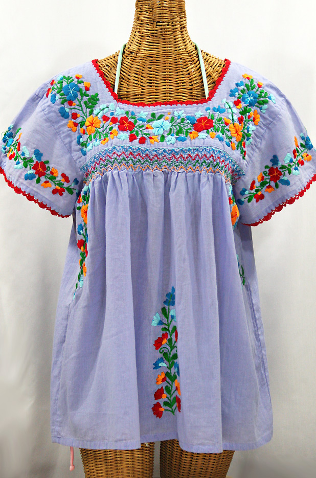 Dresses & Skirts - Embroidered Mexican peasant dress