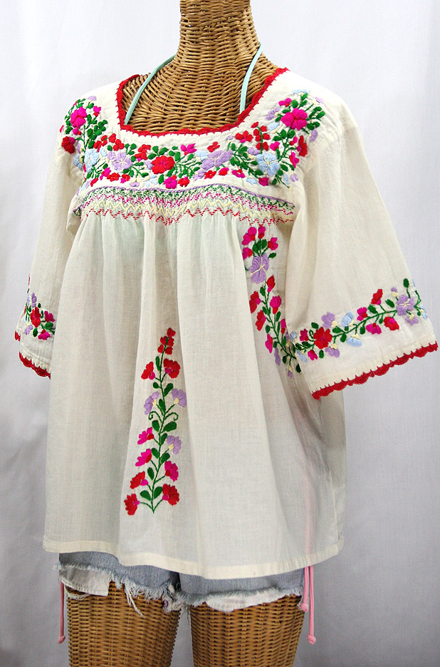 Plus Size Mexican Blouse