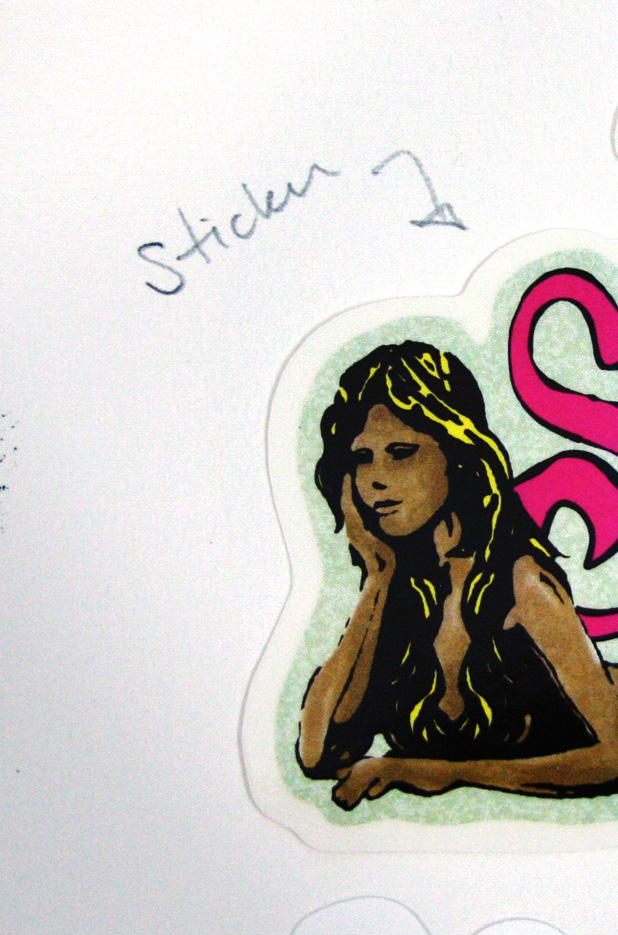 Siren Mermaid Logo Sticker