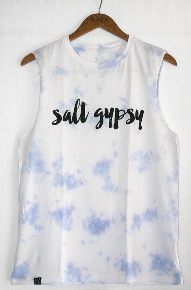 SALT GYPSY Tank in Whitewash - A Hand Sewn Salt Gypsy Original