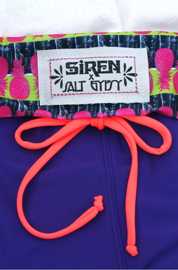 SIREN x Salt Gypsy Surf SUP Yoga Leggings - Grape Colada