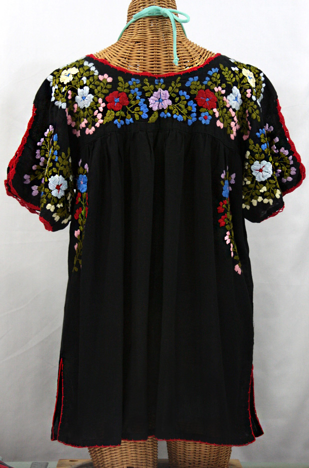 Plus Size Mexican Embroidered Blouses 89