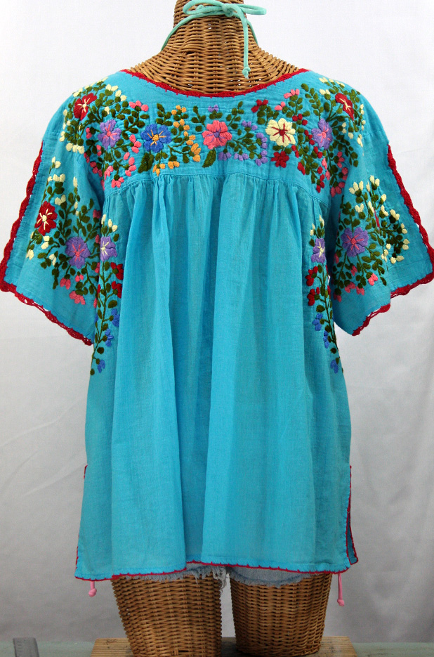 Turquoise Blouses
